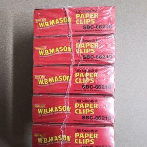 W.B.Mason No. 1 (Small) Paper Clips for Sale in Brooklyn, NY