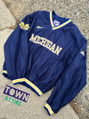 Vintage 90s Michigan Reebok jacket size medium for Sale in Wenatchee, WA