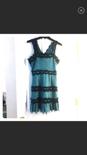 Teal/Navy Lace Mini-Dress for Sale in Braintree, MA