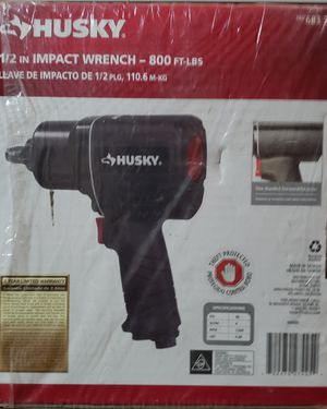 Husky 1/2 in Impact Wrench 800 ft. Lbs for Sale in Marlow Heights, MD
