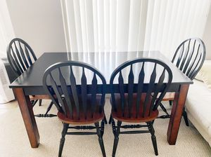 Table and 4 chairs for Sale in Washington, DC