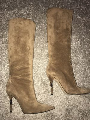 GUCCI BOOTS Tan Suede Sz. 38 for Sale in Dunwoody, GA