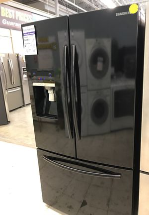 Black Samsung frenchdoor refrigerator for Sale in Denver, CO