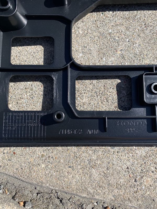 BRAND NEW 2014-2019 Acura TLX Front License Plate Holder