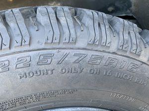 2001 rim take offs cooper 225/75r16 for Sale in Pomona, CA