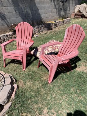 2 Adirondack chairs for Sale in Mesa, AZ