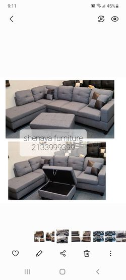 Gray Sectional Sofa  for Sale in Los Angeles, CA