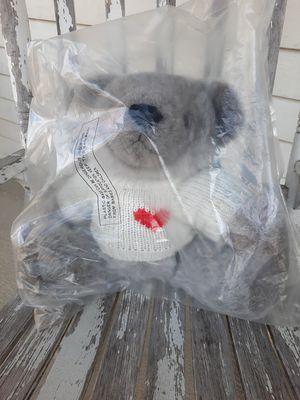 Vintage Heartline Snuggables BEAR Stuffed Animal Plush 1983 for Sale in Grove City, OH
