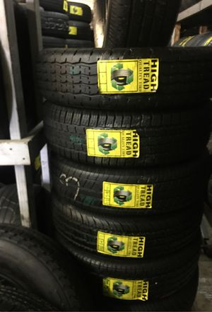 Trailer tires 225-75-15 perfect condition for Sale in Bakersfield, CA