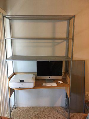 Desk w/Three shelves! for Sale in San Diego, CA