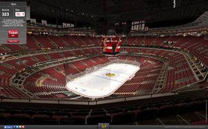 2 Tickets Blackhawks vs Las Vegas Golden Knights Tuesday 10/22 Section 323 Row 12 for Sale in Downers Grove, IL
