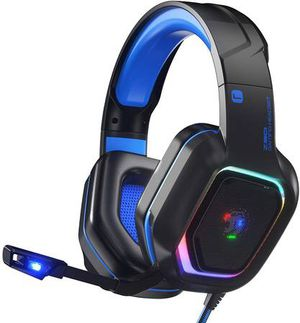 Z30 Gaming Headset for PS4, PS5, Xbox One, PC, Wired Over-Ear Headphone with Noise Isolation Microphone, RGB Flowing LED Light, 7.1 Surround Sound, B for Sale in Walnut, CA