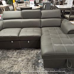 NEW, PULL OUT SECTIONAL, SKUTC8228GY for Sale in Santa Ana,  CA