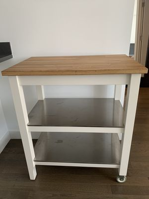 Ikea Kitchen Cart / Butcher Block for Sale in New York, NY