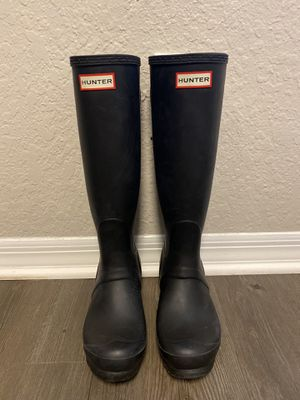 Hunter rain boots size 8 for Sale in Tampa, FL