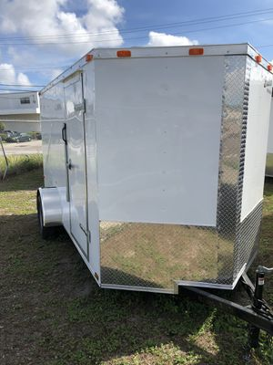 Enclosed trailer 6x12SA Basic series @ Brotherstraikers for Sale in Tampa, FL