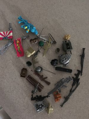Gi joe tmnt Weapon accessories to complete your figure for Sale in Lakeland, FL