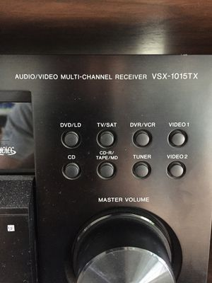 Pioneer VSX 1015TX Receiver for Sale in San Francisco, CA