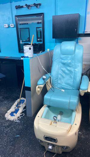 Pedicure spa chair for Sale in Sacramento, CA