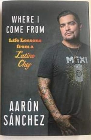 Aaron Sanchez Master chef book signed for Sale in Pasadena, TX