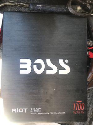 Boss 1100 Watts Amplifier for Sale in Salt Lake City, UT