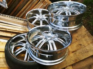 "24"" Chrome Wheels for Sale in Denver, CO"