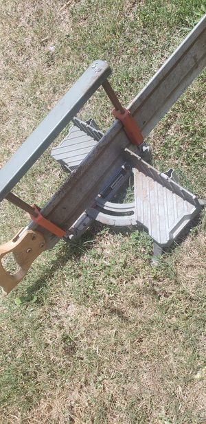 Old soild Hand Miter saw OBO for Sale in Victoria, TX