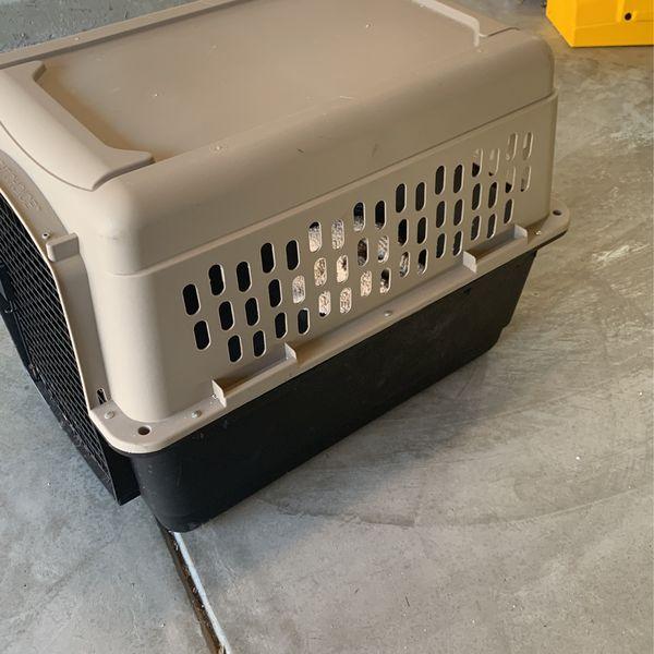 Large dog kennel
