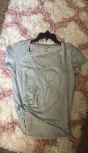 Victoria secrets pink soft cotton V-neck top size extra small for Sale in Fontana, CA