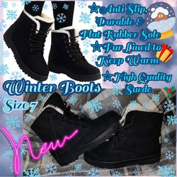 Winter Boots, Size 7-7.5, NEW for Sale in Doubs,  MD