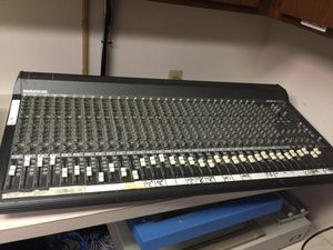 Mackie 32 track mixing console for Sale in Tacoma, WA