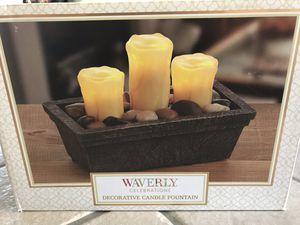 Decorative Candle Fountain for Sale in Clovis, CA