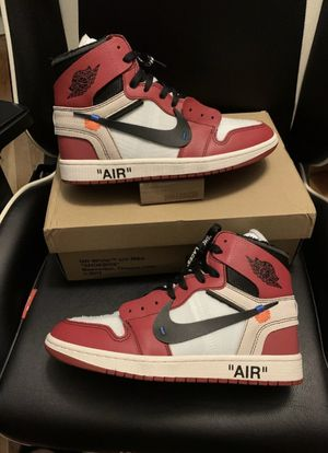 "Jordan 1 high ""Chicago"" off-white size 9.5 for Sale in ONIZUKA Air Force Base, CA"