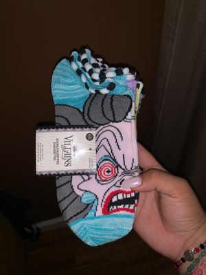 Disney villains 6 pack socks for Sale in Los Angeles, CA