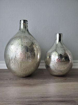 Mercury glass vases for Sale in West McLean, VA