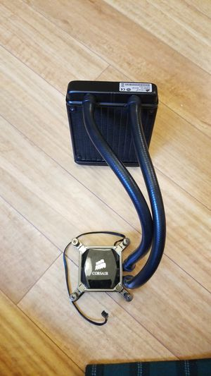 Corsair 120mm AIO water intel water cooler for Sale in Hillsboro, OR
