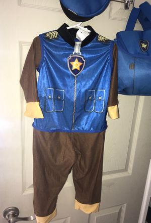 Paw patrol costume 3t-4t for Sale in Fort Worth, TX
