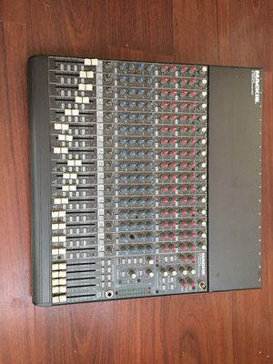 Mackie CR1604 VLZ 16 Channel mic/line Mixer for Sale in Washington, DC