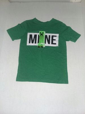 Boys MineCraft Shirt for Sale in Swainsboro, GA
