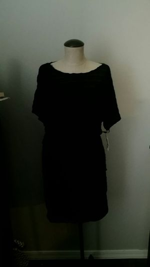 3dae4301123 New Size S Small women s Black casual summer dress from Macy s nwt by  designer Alfani for