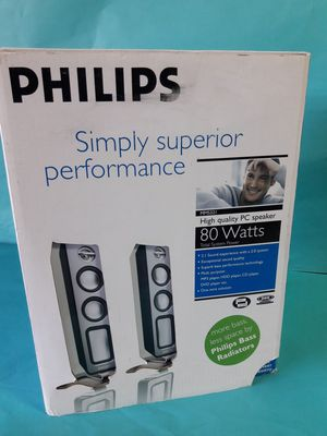 Philips Superior performalce speaker for PC 80W for Sale in Lehigh Acres, FL