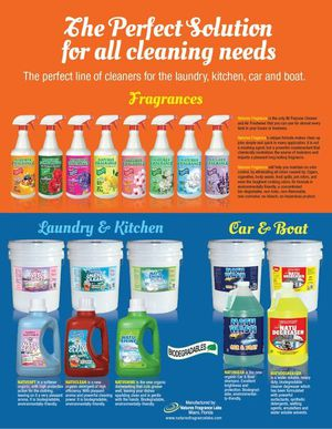Nature's fragrance Laundry detergent and softener for Sale in Tampa, FL
