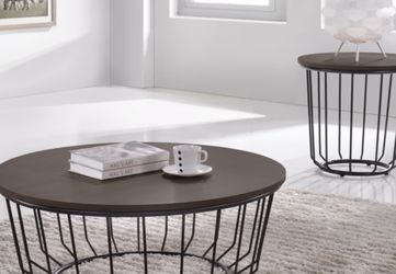 NEW AVIVA COFFEE TABLE AND SIDE TABLE SET ONLY $199 ADDITIONAL END TABLE $99 for Sale in Brandon,  FL