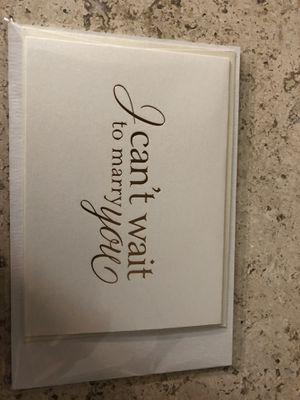 Wedding card for Sale in Alexandria, VA