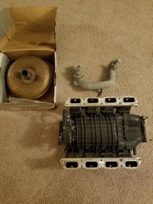 Ford Mustang GT 4.6 V8 OEM Intake Manifold with Steeda Billet Charge Motion Control Plates and Extras for Sale in MIDDLEBRG HTS, OH