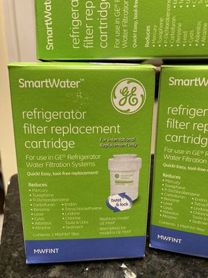 GE refrigerator filter replacement cartridge for Sale in Tacoma, WA