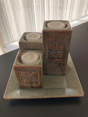 Unique Decorative Stepped Tea Lights Set for Sale in Feasterville-Trevose, PA