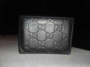 Gucci 'Black Gucci Signature' Wallet for Sale in Beaumont, TX