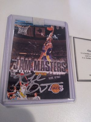 Kobe Bryant autograph for Sale in Kenmore, WA