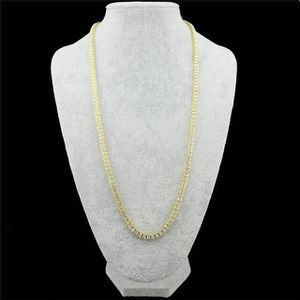 Gold chain with stones for Sale in North Bethesda, MD
